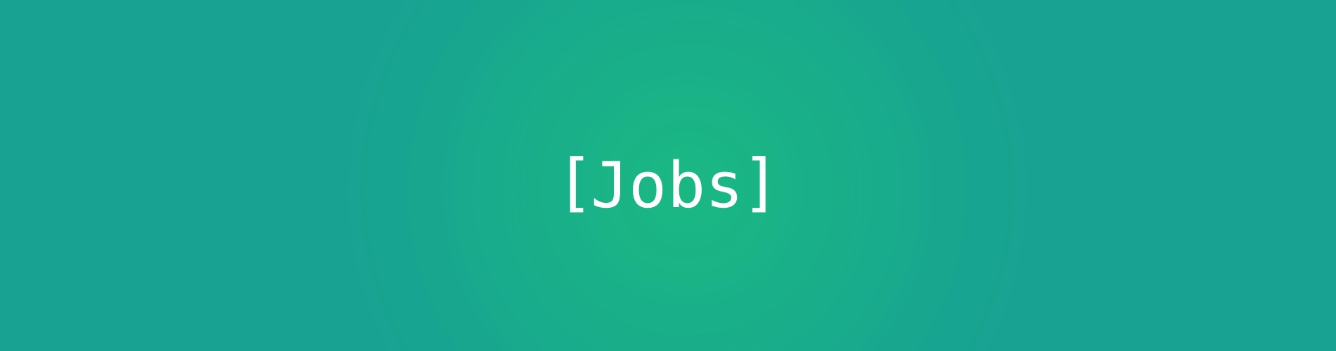 Jobs feature image